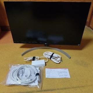 エルジーエレクトロニクス(LG Electronics)のLG 27UL650-W 27インチ IPS 4Kモニター(ディスプレイ)