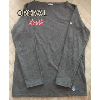ORCIVAL - 美品⭐オーチバル ORCIVAL 長袖バスクシャツ サイズ2 グレー