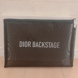 Dior - ディオール バックステージ メッシュポーチ 新品 Dior スパバッグ ポーチ