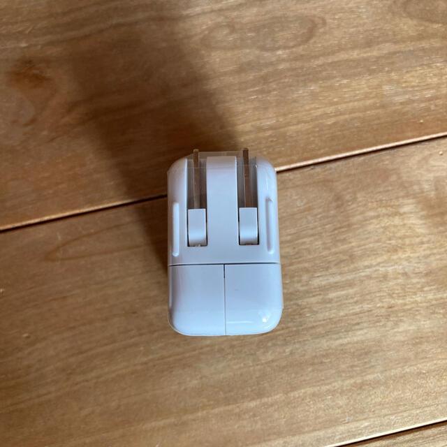 Apple(アップル)のUSB power adapter 10W スマホ/家電/カメラのスマートフォン/携帯電話(バッテリー/充電器)の商品写真