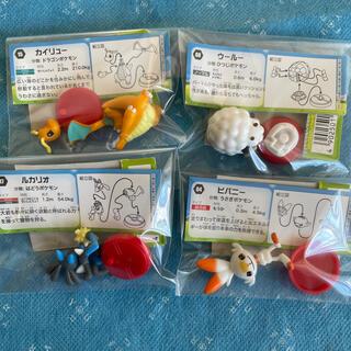 フルタセイカ(フルタ製菓)のチョコエッグフィギュア4体(アニメ/ゲーム)