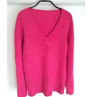 マーガレットハウエル(MARGARET HOWELL)の糸衣×yuri park カシミヤ Vネックセーター(ニット/セーター)