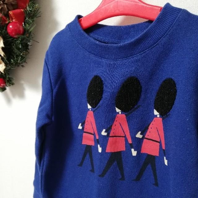 Design Tshirts Store graniph(グラニフ)のグラニフトレーナー110 キッズ/ベビー/マタニティのキッズ服男の子用(90cm~)(ニット)の商品写真