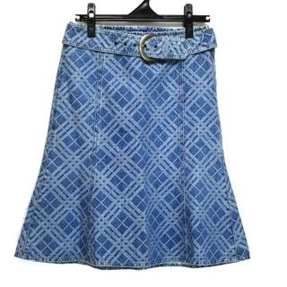 バーバリーブルーレーベル(BURBERRY BLUE LABEL)のバーバリーブルーレーベル スカート 38 M -(その他)