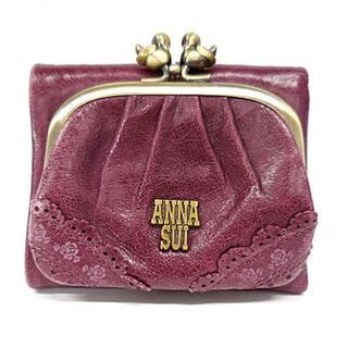 アナスイ(ANNA SUI)のANNA SUI(アナスイ) 3つ折り財布 - レザー(財布)
