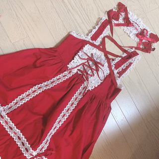 BABY,THE STARS SHINE BRIGHT - ベビードールジャンパースカート
