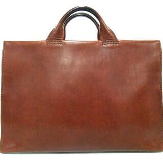 ヘルツ(HERZ)のヘルツ ビジネスバッグ - ブラウン レザー(ビジネスバッグ)