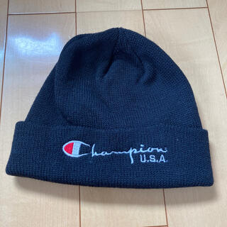 チャンピオン(Champion)のchampion 帽子 USA(ニット帽/ビーニー)