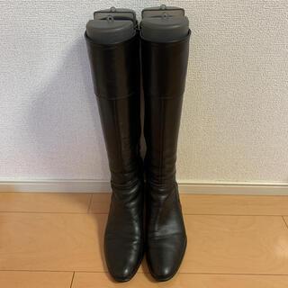 DIANA - DIANA ロングブーツ 黒 24cm