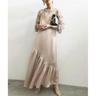Ameri VINTAGE - Ameri/レイヤードキャミドレス