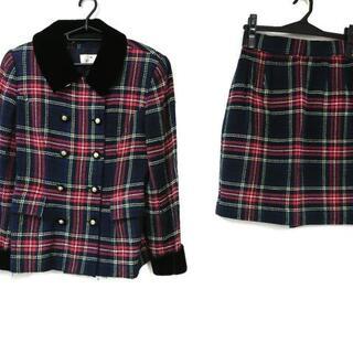 エムズグレイシー(M'S GRACY)のエムズグレイシー スカートスーツ 9 M美品 (スーツ)