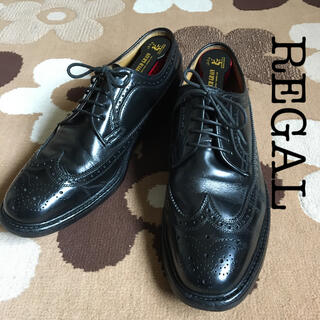 REGAL - 【REGAL】リーガル/ウィングチップ#2589/ブラック/26.5㎝