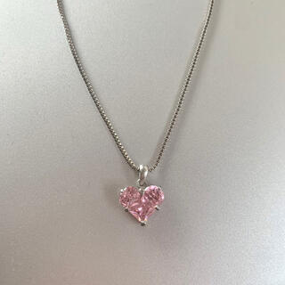 ロキエ(Lochie)のpink heart necklace(ネックレス)
