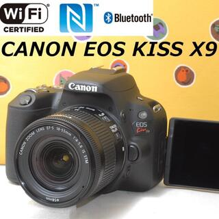Canon - ハイスペック★自撮り&超高画質★CANON EOS KISS X9