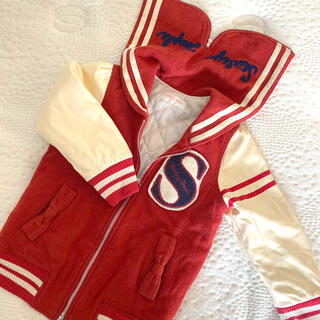 Shirley Temple - Shirley Temple*赤セーラースタジャン110cm