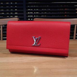 LOUIS VUITTON - 超美品 ルイヴィトン 長財布 M62326 ルビー レッド 赤