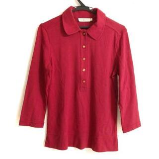 トリーバーチ(Tory Burch)のトリーバーチ 七分袖ポロシャツ サイズM -(ポロシャツ)