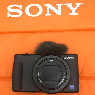 SONY - ZV-1 sony 新品同様 ソニーストア購入3年ワイド保証