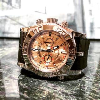 ロジェデュブイ(ROGER DUBUIS)の定価320万 正規OH済 ロジェデュブイ イージーダイバー クロノグラフ 限定品(腕時計(アナログ))