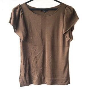ランバンコレクション(LANVIN COLLECTION)のランバンコレクション 半袖セーター 38 M -(ニット/セーター)