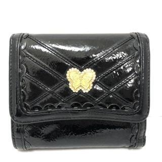 アナスイ(ANNA SUI)のANNA SUI(アナスイ) Wホック財布 - 黒(財布)