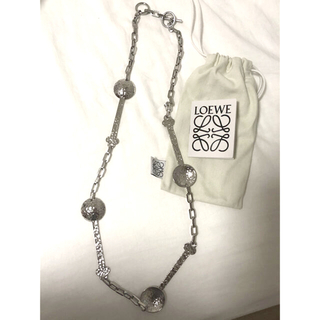 ロエベ(LOEWE)の★新品★ロエベPalladium Hammered Spoon Necklace(ネックレス)