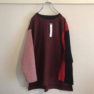 Lochie - 美品 クレイジーパターン デザイン ニット セーター