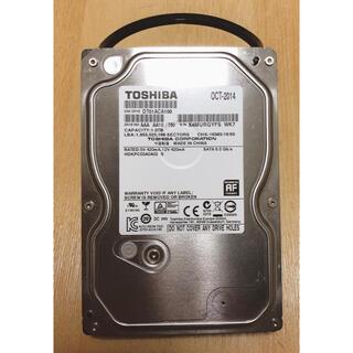 トウシバ(東芝)の東芝製 3.5インチ HDD 1TB(PCパーツ)