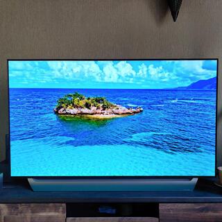 エルジーエレクトロニクス(LG Electronics)の【訳あり】LG 有機ELテレビ55V型(テレビ)