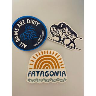 パタゴニア(patagonia)のpatagonia ステッカー3枚セット(ステッカー)