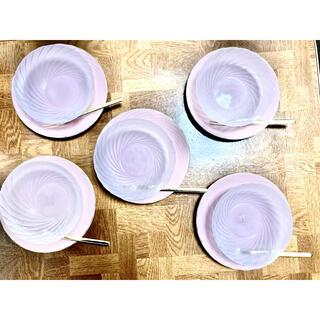 タチキチ(たち吉)のたち吉 デザートセット 5客組(フォーク付)(食器)