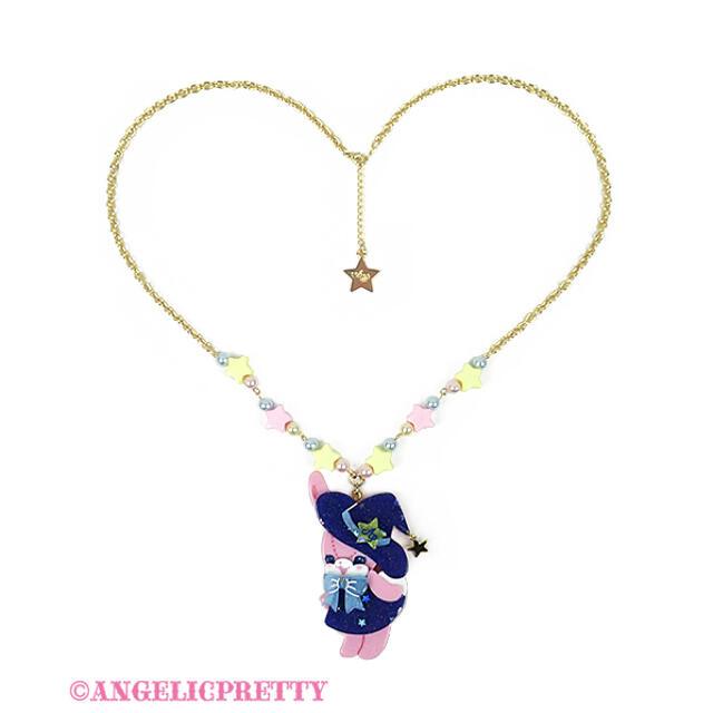 Angelic Pretty(アンジェリックプリティー)のLittle Witchリリカルバニーネックレス レディースのアクセサリー(ネックレス)の商品写真