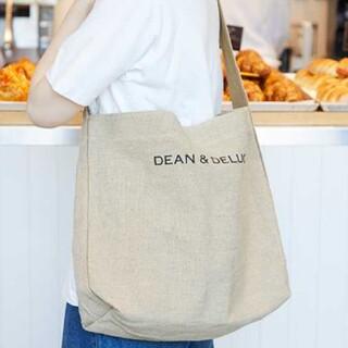 DEAN & DELUCA - DEAN & DELUCA リネントートバッグ Lサイズ