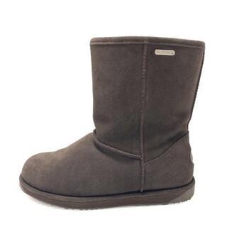 エミュー(EMU)のEMU(エミュ) ブーツ 24 レディース美品 (ブーツ)