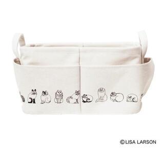リサラーソン(Lisa Larson)のリサラーソン     外ポケット付き 収納ボックス(ケース/ボックス)