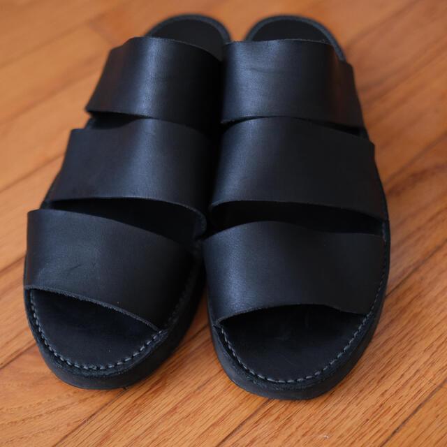 LAD MUSICIAN(ラッドミュージシャン)のLAD MUSICIAN レザーサンダル メンズの靴/シューズ(サンダル)の商品写真