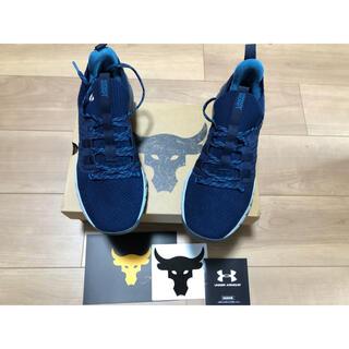 UNDER ARMOUR - UA PROJECT ROCK 3 27.5cmトレーニング靴箱、ステッカー付き