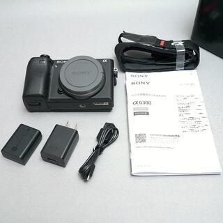 SONY - SONY α6300 ボディ ILCE-6300 美品 おまけ付き