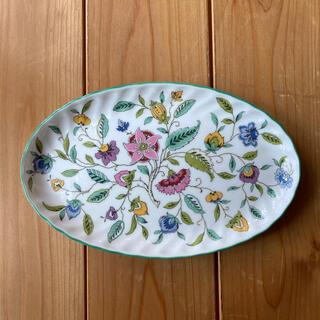 ミントン(MINTON)の ミントン ハドンホール オーバルトレイ(楕円皿) (食器)