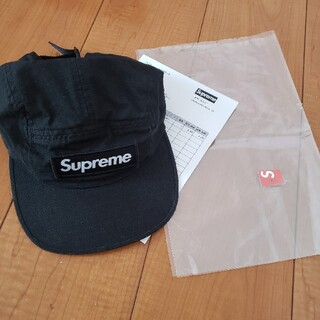 Supreme - supreme キャンプキャップ ブラック camp cap 黒