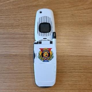 エヌティティドコモ(NTTdocomo)のドコモ携帯電話 mova P505i 阪神タイガース2003年優勝コラボモデル (記念品/関連グッズ)