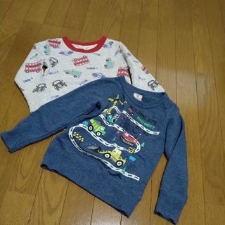 マザウェイズ(motherways)のマザウェイズ  104、110トレーナーセット(Tシャツ/カットソー)