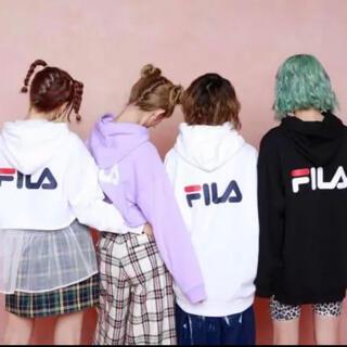 FILA - 美品♡SCANDAL FILA コラボパーカー