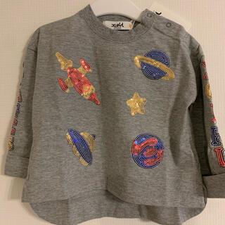NARUMIYA INTERNATIONAL - 新品未使用 エックスガール ロンT スパンコール カットソー  長袖 Tシャツ