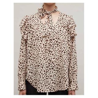 エディットフォールル(EDIT.FOR LULU)のRANDEBOO leopard blouse(シャツ/ブラウス(長袖/七分))