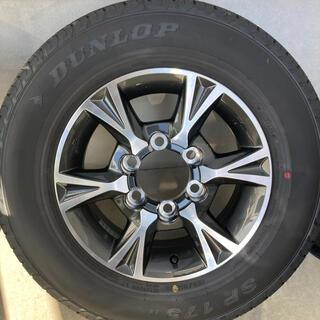 トヨタ - ハイエース6型 純正 アルミホイール タイヤセット 新車外し 195/80r15