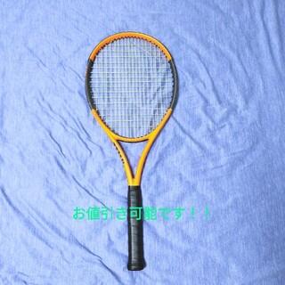 ウィルソン(wilson)のテニスラケット ウィルソン バーン100ls  値引き可能!!(ラケット)