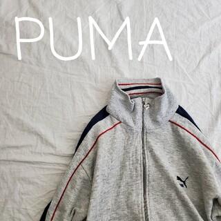 PUMA - PUMA プーマ 古着 ジップアップスウェット ジャージ