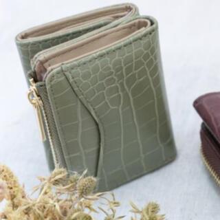 シマムラ(しまむら)のプチプラのあや  しまむら 三つ折り財布 (財布)