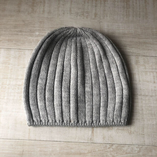 UNIQLO - ユニクロ ヒートテック ニット帽 ニットキャップ グレー